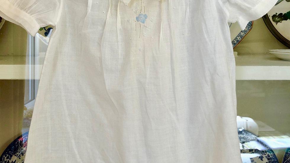 Lovely little Cotton Lawn Vintage Child's Smock Dress