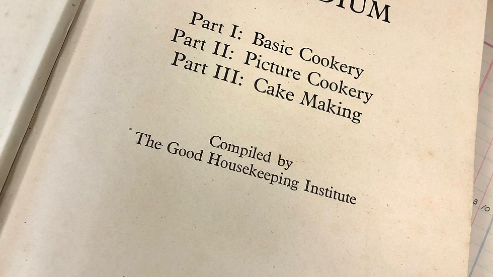 Vintage Boxed Good Housekeeping Cookery Compendium