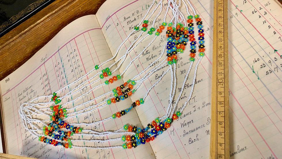 Beautiful Vintage Beaded Strings - lovely design.