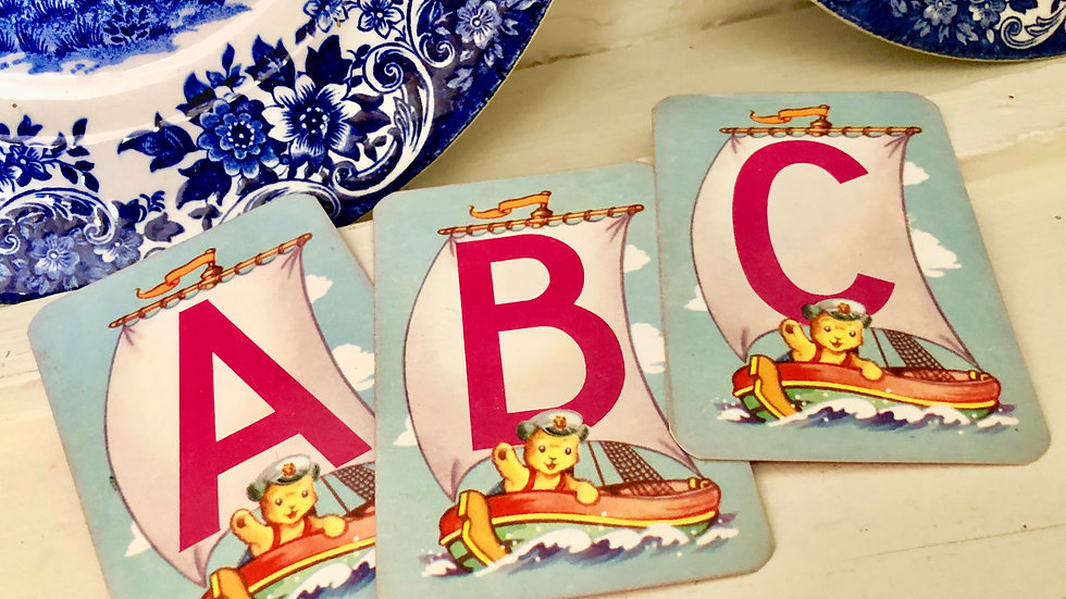 Set of 3 - ABC Sooty Playing Cards