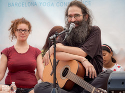 At the Barcelona Yoga Confence