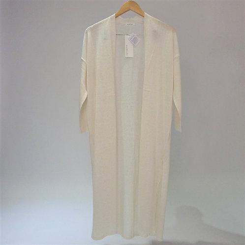 Linen Jersey Stretch Robe - 長身麻布外套