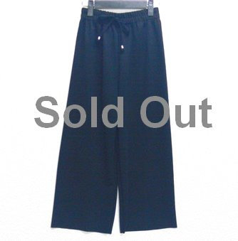 Stripe Tokumu wide pants - 直紋高腰闊腳褲