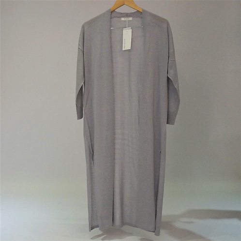 Linen Jersey Stretch Robe - 長身麻布外套