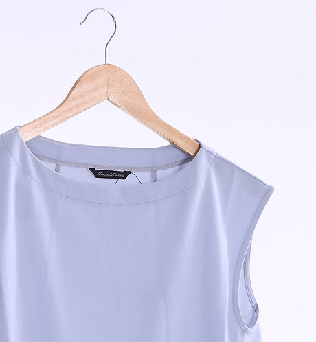 French Top Plain Blouse - 法國風淨色上衣