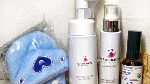 Paw Cleanser, Mist, Hydrosol and Toy