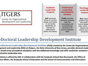 Rutgers PreDoctoral Leadership Development Institute (PLDI)