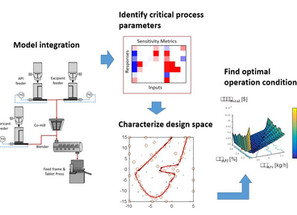 Process Analysis and Optimization for Continuous Pharmaceutical Manufacturing Processes