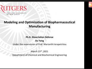 Congratulations, Dr. Yang!