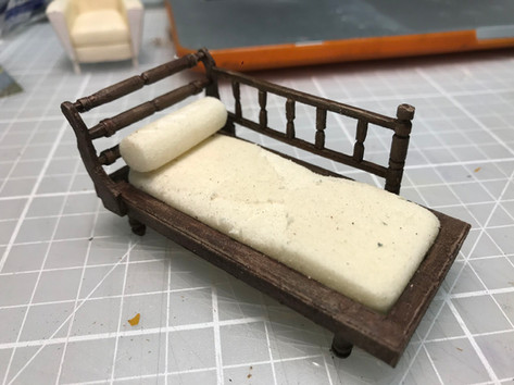Day bed for Chloe Lamford