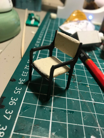 Modern chair for Emily Bates