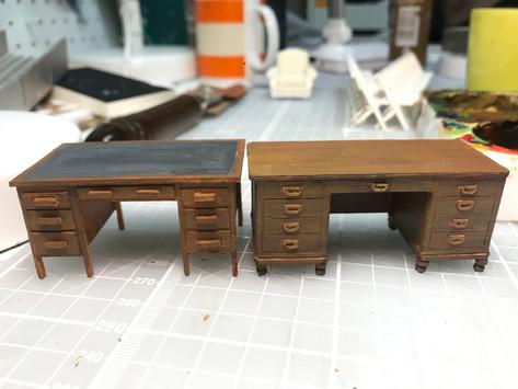 Desks for Chloe Lamford