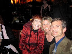 With Annie Ross and my brother, John