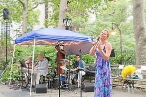 jazz singer, New York
