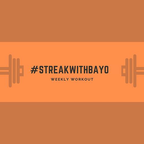 Bayo's Healthy Lifestyle Bundle