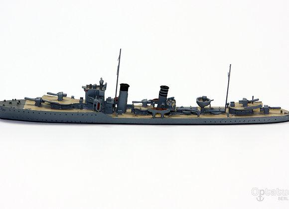 HMS Codrington mit Decksbemalung