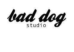 bad dog studio logo