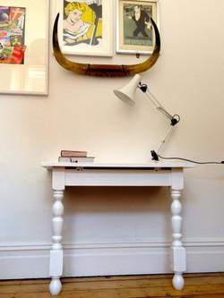 Upcycled Hall Table