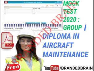 POLYTECHNIC GROUP I MODEL PAPER 2021 / POLYTECHNIC GROUP I MODEL PAPER 2021,POLYTECHNIC AIRCRAFT