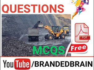 MINING ENGINEERING IMPORTANT QUESTIONS / CIL FOREMAN PREPARATION / NCL FOREMAN MINING BOOK PDF /NTPC