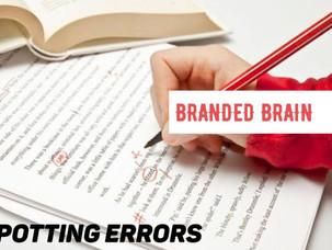 Spotting Errors : General English