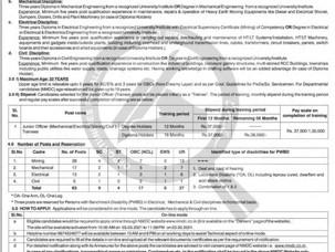 JOB FOR DIPLOMA / JOB FOR BTECH 2021 / NMDC JOB 2021 /NMDC LATEST VACANCY 2021