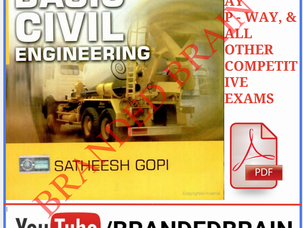 Basic Civil Engineering book by Satheesh Gopi pdf download free, Basic Civil Engineering book pdf