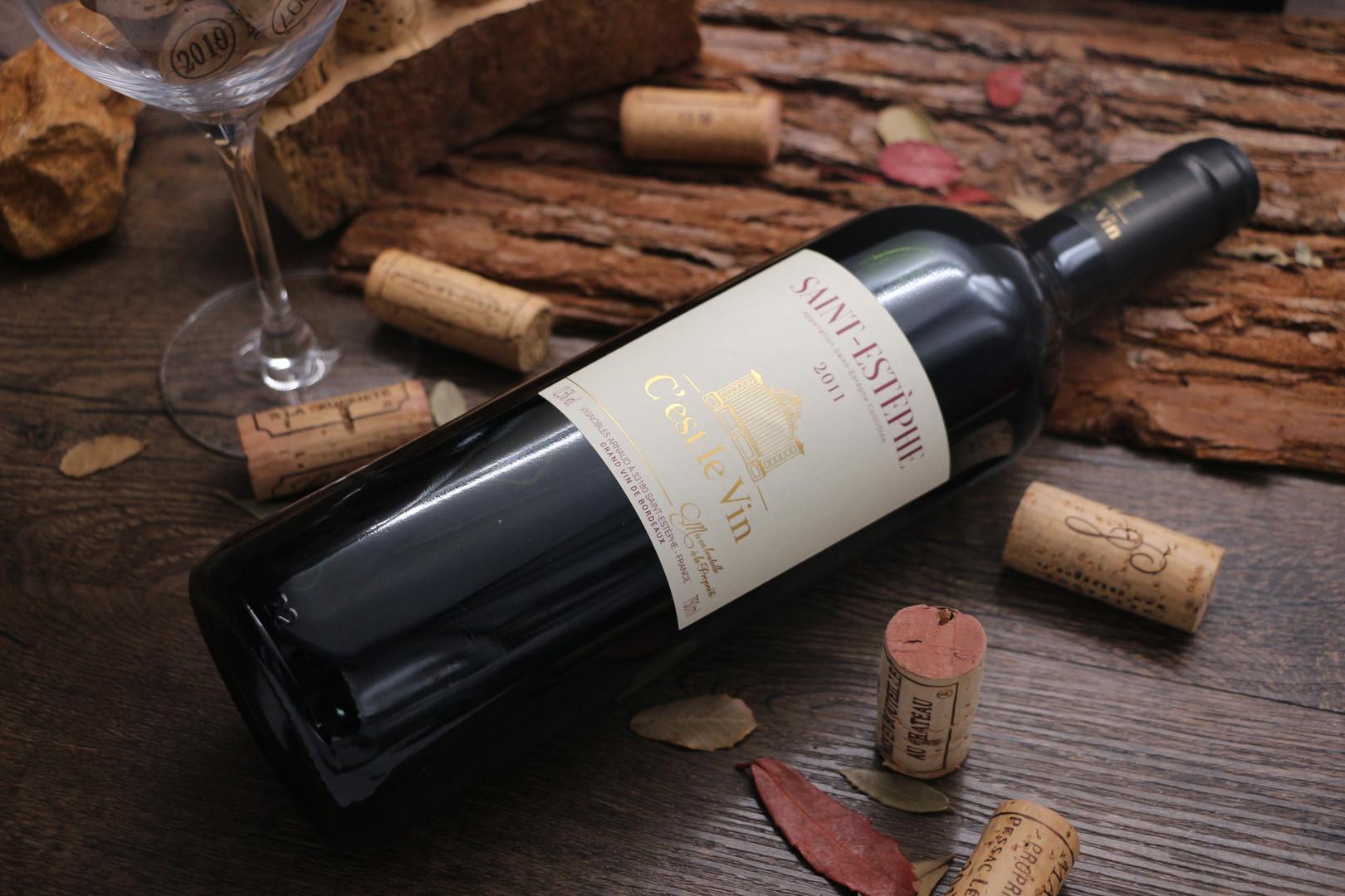 Saint Estephe 紅葡萄酒