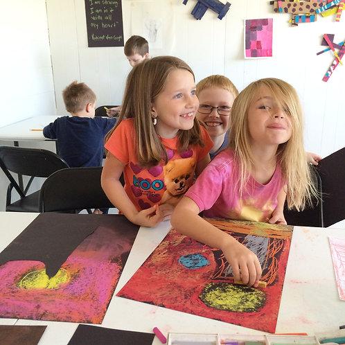 Art After School with Lindsay McBride Ages 7-12