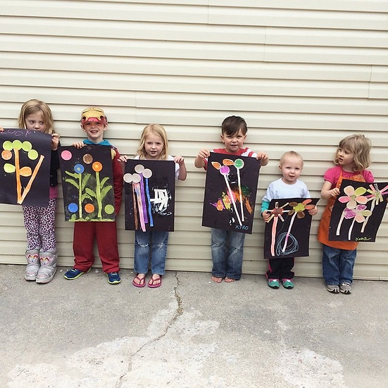 Back to School Art Party with Lindsay McBride-Ages 5-12