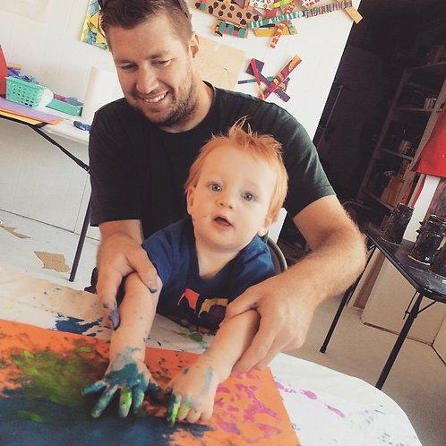 Canceled-Tots Art Adventure with Lindsay McBride- Ages 18 months-10