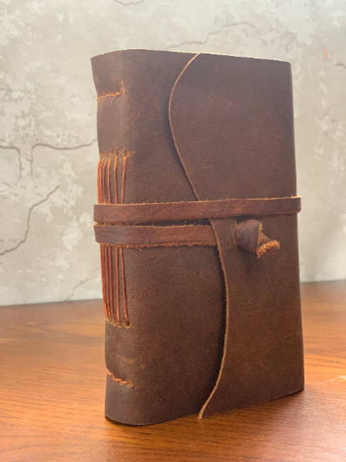 Leather Journal with Amanda Stokes- Ages 13+