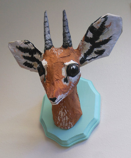 Paper Mache Camp with Megan Gibbs-Ages 8+