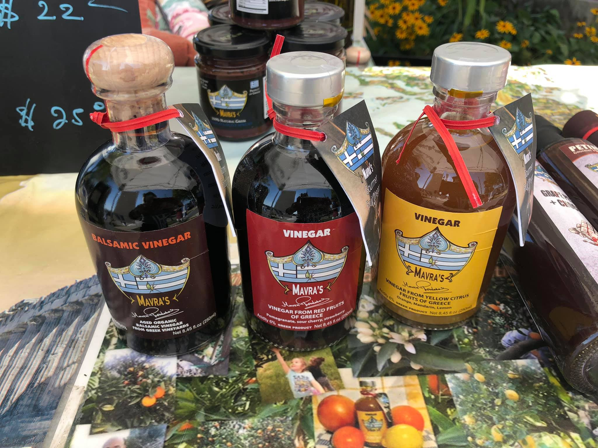 Mavra's Greek Oil