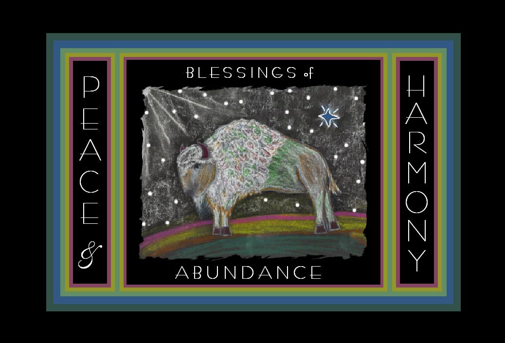 White Buffalo Postcard