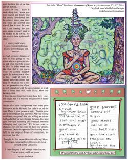 Scrolls Art Page Abundance Painting