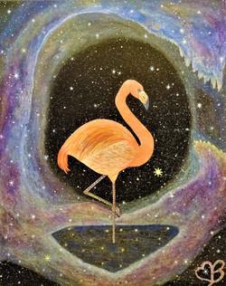 Cosmic Flamingo