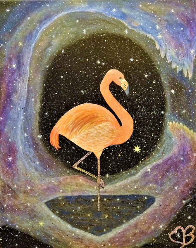 Cosmic Flamingo