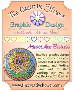 The Creative Flower Qrt Ad