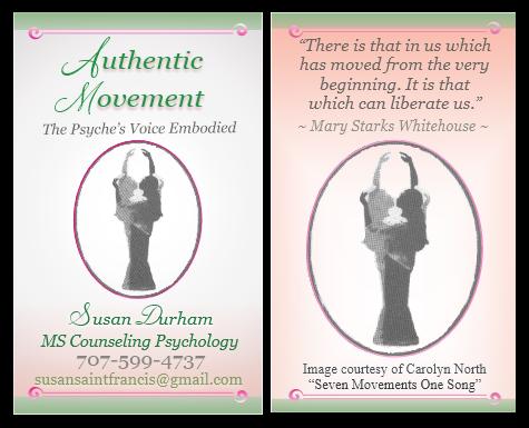 Biz Card Authentic Movement