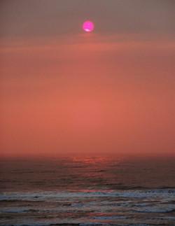 Dusky Pink Sunset