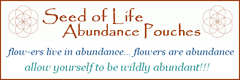 Seed of Life Abundance Pouches Label