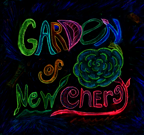 Garden of New Energy Sign