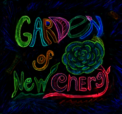 Garden of New Energy Sign