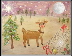 Rudolf Lights the Night