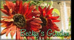 Beckys Garden Banner
