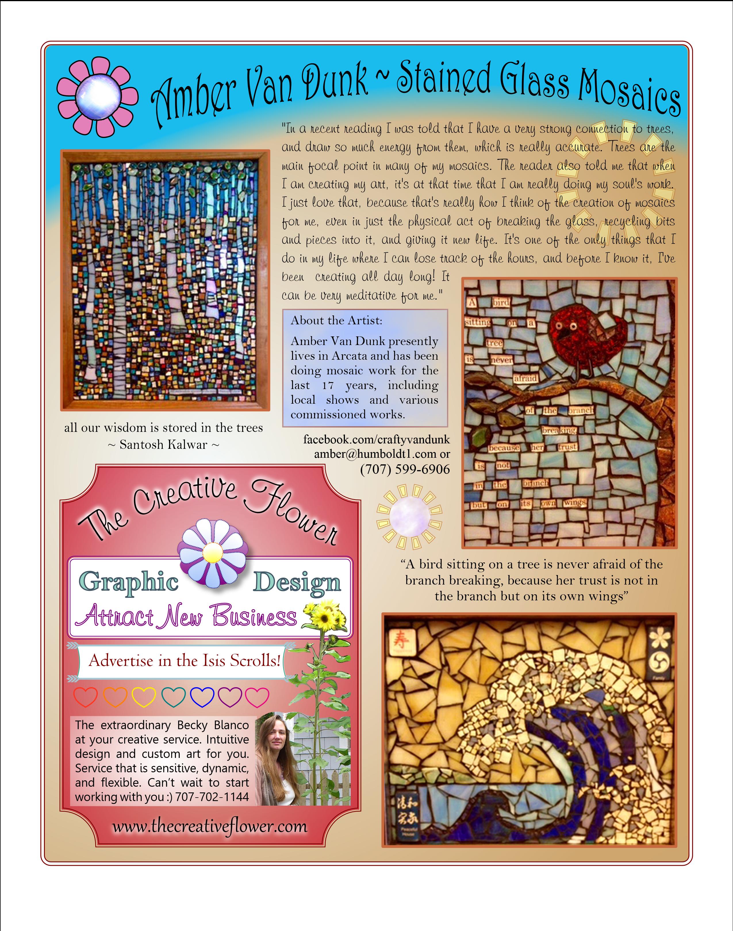 Scrolls Art Page Mosaic