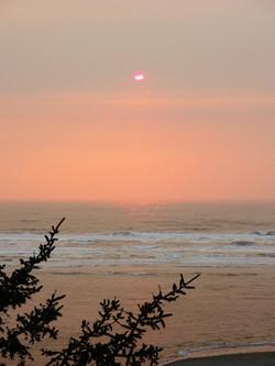 Light Peach Sunset