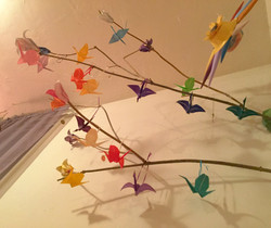 Origami Tree Underneath View