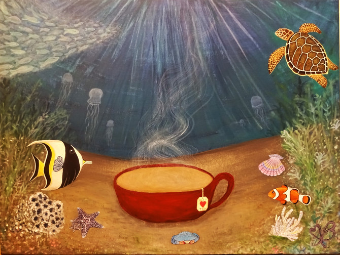 Tea Under the Sea - A Closer Look